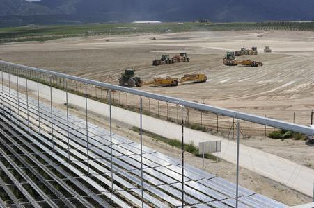 Baubeginn Puerto Errado 2 (Foto:EBL/J. Riegger)