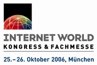 Logo Internet World 2006