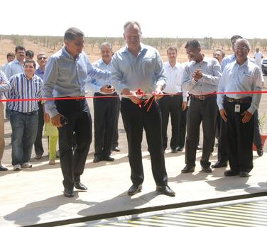 Inauguration of Buthj production facility (W2E-Christoph Klewitz, NuPower Deepak Kochhar Deepak Kochhar)