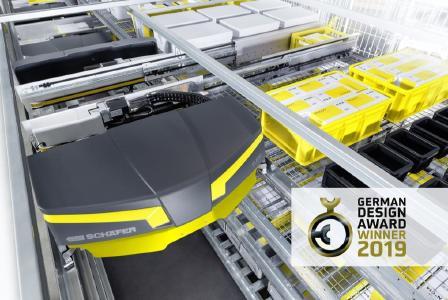 Das SSI Flexi Shuttle wird in der Kategorie Industry mit dem German Design Award 2019 ausgezeichnet