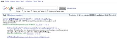 Nach Abschluss der Optimierungsmaßnahmen erreichte die MAICO-Webseite sechs Platzierungen auf Platz 1.
