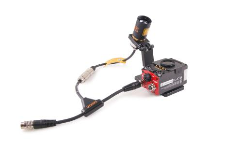 LUMIMAX® mounting solution for Keyence Code Reader SR-2000 incl. T1-Adapter cable and Filter adapter