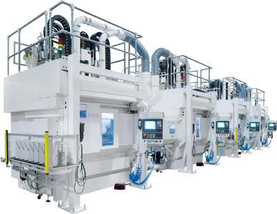 EMAG liefert ein Fertigungssystem zur Komplettbearbeitung von Nockenwellen an den Autobauer Changan. Von der Weichbearbeitung bis zum Schleifen – alles auf der VTC-Plattform