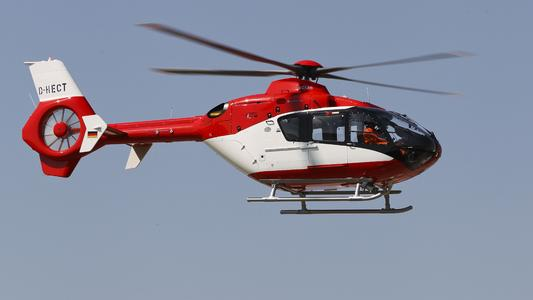 EC135 EMS of Gökçen Aviation © Copyright Eurocopter, Charles Abarr