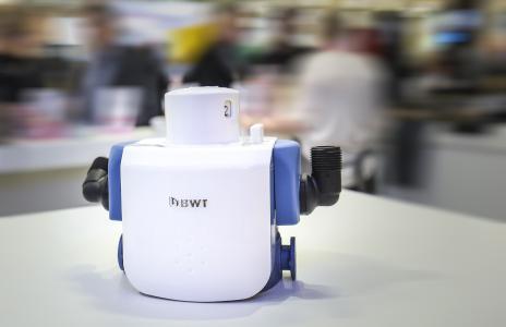 Der neue Filterkopf BWT besthead FLEX verfügt über die vielfältigste Anschlusslösung weltweit / Foto: BWT water+more