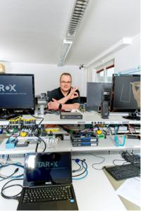 Oliver Marx, Leitung Technical Support Center TAROX