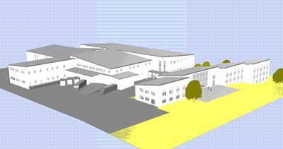 Verwaltung /  Produktions- und Logistikgebäude