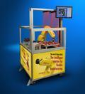 Eine in die Steuerung integrierte Bildverarbeitung, die zur Lageerkennung oder Qualitätssicherung eingesetzt wird, vereinfacht den Produktionsprozess. Bild: Fanuc Robotics