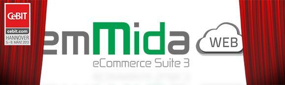 Speed4Trade präsentiert erstmalig emMida WEB im eCommercePark der CeBIT