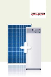 Mit dem starken STIEBEL-ELTRON-Doppel, bestehend aus Photovoltaik-Modul Tegreon und Warmwasser-Wärmepumpe WWK 300PV, verbessert man die Wirtschaftlichkeit der PV-Anlage und erwärmt kostengünstig und umweltfreundlich das Warmwasser
