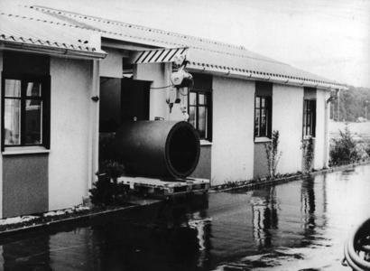Endress+Hauser produced its first electromagnetic flowmeters in former military barracks (1977)