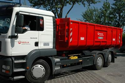 LKW der Veolia Umweltservice GmbH