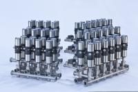 Kompakte, modular aufgebaute Ventilknoten mit allen erforderlichen Konformitätsbescheinigungen. (Quelle: Bürkert)