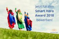 Bewerbungsstart für den Smart Hero Award 2018: Stiftung Digitale Chancen und Facebook suchen zum fünften Mal Smarte Helden