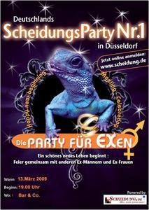 Scheidungsparty in Düsseldorf am 13.03.09
