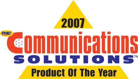 Logo Product-of-the-Year-Award 2007 für INSPIRATIONpro von ASC