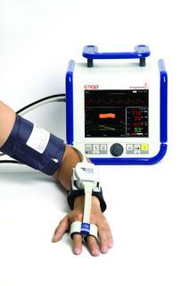 CNAP Monitor 500 for noninvasive assessment of full hemodynamics