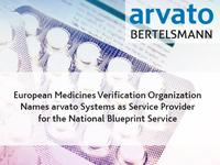 European Medicines Verification Organization Names arvato Systems as Service Provider for the National Blueprint Service