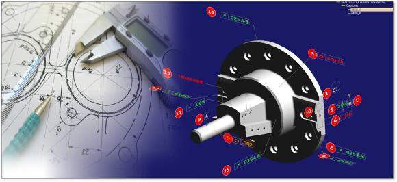 """""""Digitale Stempelung der Prüfmerkmale von PDF & CAD Zeichnungen und Modellen"""""""