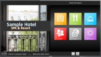 Kiosk System: An interactive information system for hotel guests
