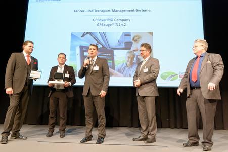 Europäischer Transportpreis für Nachhaltigkeit 2016: GPSoverIP Company gewinnt!