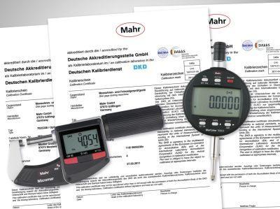 Neue Akkreditierungen: Mahr bietet mit seinen akkreditierten DAkkS-Laboren umfangreiche Kalibrierdienstleistungen für die Längenmesstechnik.