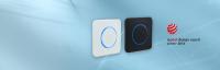 CleanSwitch | Berührungslose, hygienische Türöffnung | Attraktives Design mit visuellem Feedback |  Kompatibel mit marktüblichen Unterputzdosen