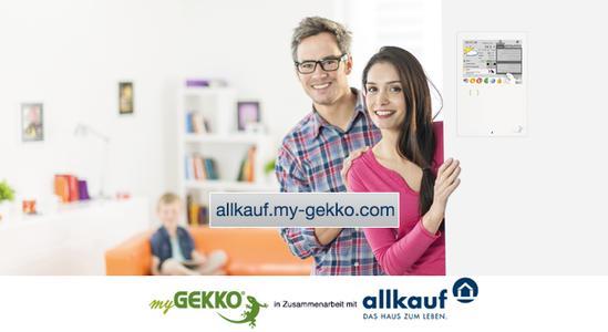 Starke Kooperation: myGEKKO & Fertighaushersteller allkauf