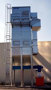 NESTRO® Zwischenfilter 9/4-35 in der Baustoffindustrie