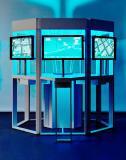 Foto (hl-studios, Erlangen): Messemodell zu Siemens Customer Services für Motion-Control-Anwendungen