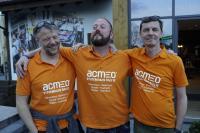 Sieger acmeo Systemhaus Rallye 2019-vlnr Meik Romberg, Raimund Janßen. Alexander Wißfeld