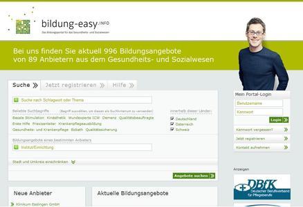 Bildungsportal bildung-easy.info jetzt noch attraktiver