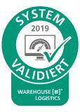 Erneute Validierung der FIS für die SAP Warehouse-Lösung durch das Fraunhofer IML. Bild: warehouse-logistics