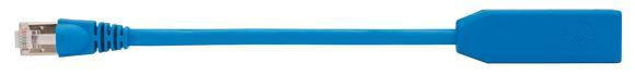 DDCP-Link von Telegärtner überträgt 10 GB Ethernet mit 500 MHz. und ist tauglich für PoE+ gemäß IEEE 802.3at