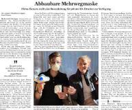 [PDF] Pressemitteilung: Abbaubare Mehrwegmaske
