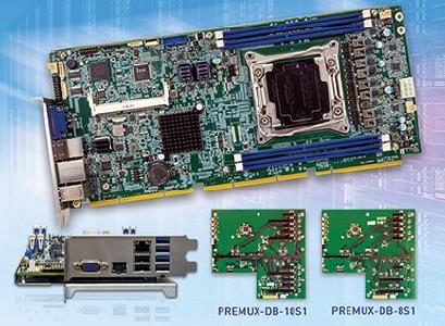 PEMUX-XEW1 mit bis zu 56 PCIe-Lanes