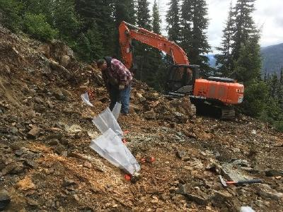 Ximens Optionspartner informiert über die laufenden Explorationsarbeiten im Silberprojekt Treasure Mountain in Tulameen, British Columbia