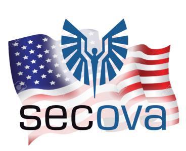 secova USA Logo Flag