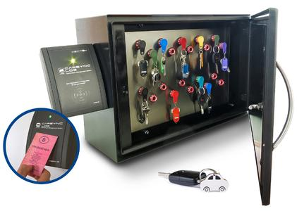 Der elektronische Schlüsselschrank von VISPIRON. Bild: VISPIRON CARSYNC GmbH