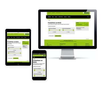 Die neue responsive blickle.de – powered by Sitecore, realisiert von UDG United Digital Group