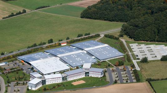 Firmenhauptquartier in Igersheim/Harthausen