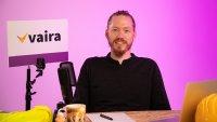 Geschäftsführer Max Erdmann präsentiert im dritten Vaira Webseminar das marktreife Vaira Upgrade (© Vaira UG)