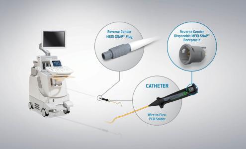 Novità: componente monouso per connettori push-pull MEDI-SNAP® di ODU