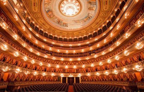 Der Innenraum © Teatro Colón (Cecilia Scalisi)