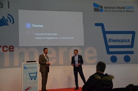Emmanuel Kirse und Christian Vollmer referierten über Erfolgsfaktoren im E-Commerce.