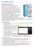 TurboCAD 2D 2017 Prospekt