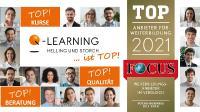 BILD | Q-LEARNING von FOCUS-BUSINESS als Top-Anbieter für Weiterbildung ausgezeichnet