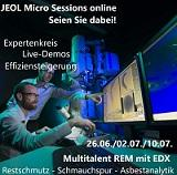 Jeol startet Micro Sessions