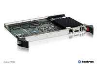 Kontron CompactPCI processor board CP6002 brings latest Intel Core i7 performance to 6U systems