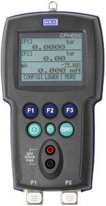 WIKA company photograph: Pressure calibrator model CPH65I0
